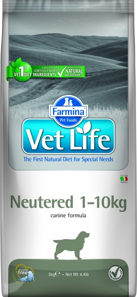 Vet Life Neutered 1-10 kg (Hund)